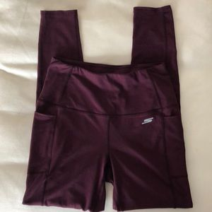 Skechers workout Leggings with Side Pockets